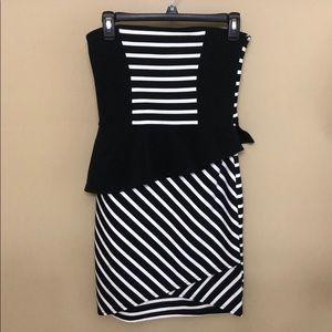 ASOS Strapless Mini Dress